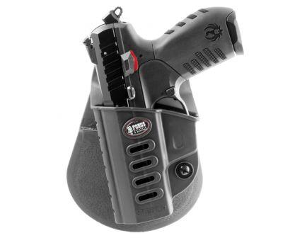 Fobus Evolution Left Hand Ruger SR22 Holster, Smooth Black - SR22LH