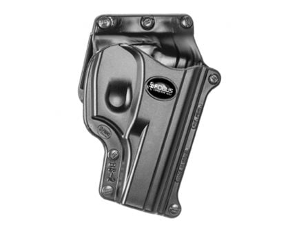 Fobus Standard Right Hand Bersa Thunder 380 Holster, Belt Loop/Slide Mount, Smooth Black - BS2BH