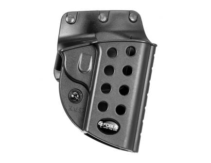 Fobus Evolution Right Hand 1911 Style Holster, Belt Loop/Roto Slide Mount, Smooth Black - R1911BH