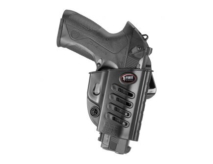Fobus Evolution Right Hand Beretta PX4 Storm Holster, Belt Loop/Roto Slide Mount, Smooth Black - PX4BH