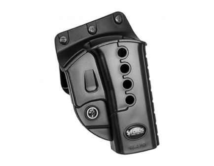 Fobus Evolution Right Hand Glock 17/19/22/34/35 Holster, Smooth Black - GL2E2BH