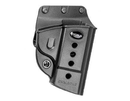Fobus Evolution Right Hand S&W M&P Holster, Belt Loop/Roto Slide Mount, Smooth Black - SWMPBH