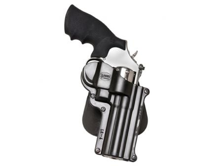 Fobus Standard Right Hand S&W 686/10/48/L/K Frame Holster, Smooth Black - SW4RP