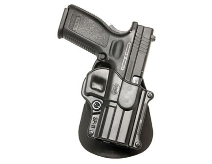 Fobus Standard Right Hand Springfield XD HS 2000 9/40/357 Holster, Smooth Black - SP11RP