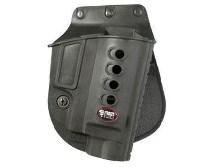 "Fobus Evolution Right Hand 2.5"" to 3"" Cylinder Taurus Judge Holster, Smooth Black - TAJDRP"