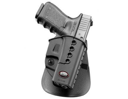 Fobus Evolution Right Hand Glock 23/31/32/34/35 Holster, Smooth Black - GL2E2RP