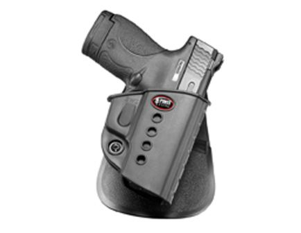 Fobus Evolution Right Hand S&W M&P Shield Holster, Smooth Black - SWSRP