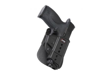 Fobus Evolution Right Hand S&W M&P Holster, Roto Paddle Mount, Smooth Black - SWMPRP