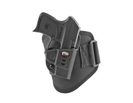 Fobus Ankle Right Hand Kel-Tec P-3AT/P32 Holster, Smooth Black - KT2GA