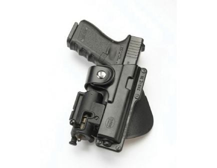Fobus Tactical Right Hand Glock 19/23/32 Holster, Roto Paddle Mount, Smooth Black - GLT19RP