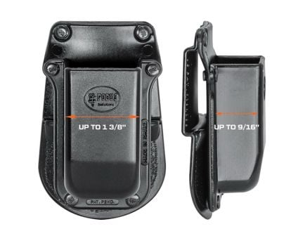 Fobus Single Magazine Pouch for 1911 and .45 ACP, Black - 390145