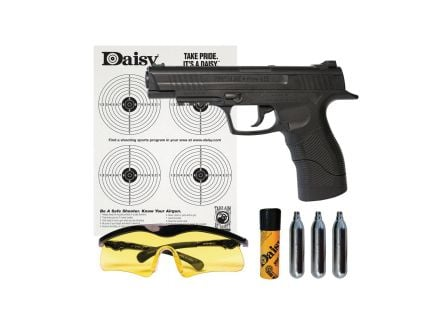 Daisy Outdoor Products PowerLine .177 Air Pistol Kit, Blk - 5415