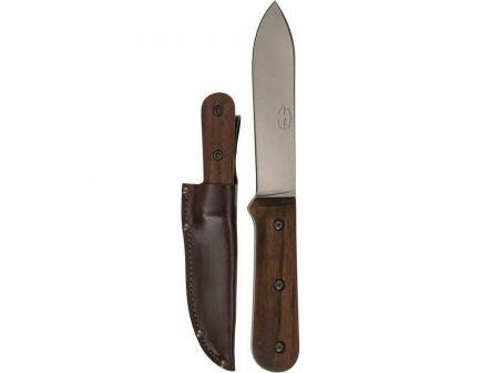 """KA-BAR Becker Kephart Drop Point Fixed Blade Knife, 5.125"""", Brown - BK62"""