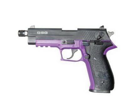 "ATI GSG FireFly 4.9"" .22lr Pistol, Purple - GERG2210TFFL"