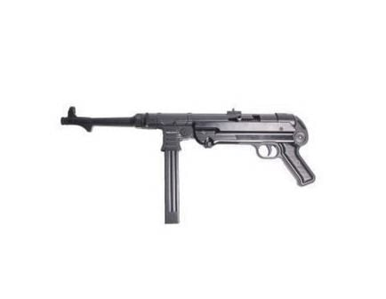 ATI German Sport GSG-MP40P 9x19mm Pistol w/ Wooden Crate, Blk - GERGMP409