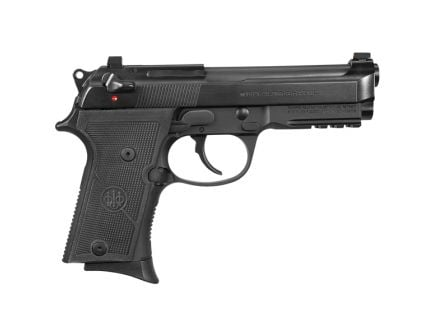 Beretta 92X FR Compact Rail 9mm Pistol, Textured Black - J92CR920