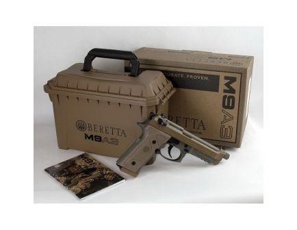 Beretta M9A3 Type G 9mm Pistol, Blk - JS92M9A3GNTO