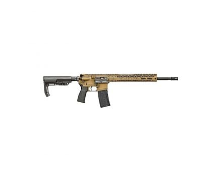Black Rain Ordnance Fusion Series .223 Rem/5.56 AR Pistol, White Battleworn - BRO-FUSION-P-SBA3-WB