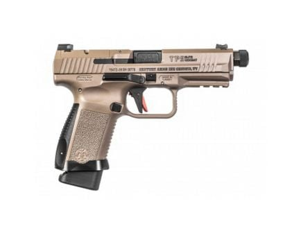 Canik TP9 Elite Combat 9mm Pistol, Cerakote FDE - HG4617DVN