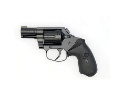 Colt Night Cobra .38 Spl +P Revolver, Matte Black Diamond-Like Carbon - COBRAMB2BBHB