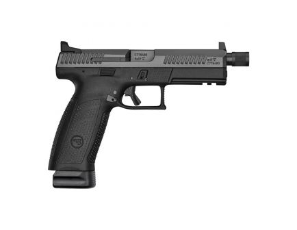 CZ-USA CZ P-10 F Suppressor-Ready 9mm Pistol, Blk - 91543