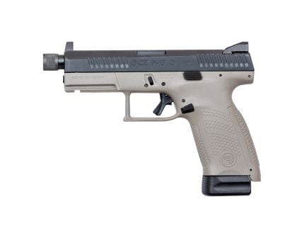 CZ-USA CZ P-10 C Suppressor-Ready 9mm Pistol, Urban Gray - 91534