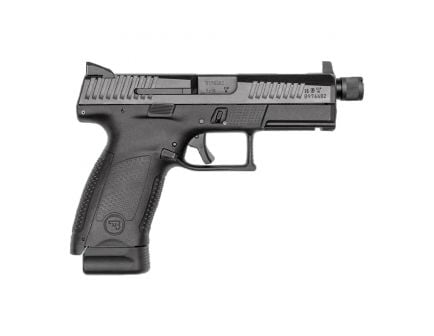 CZ-USA CZ P-10 C Suppressor-Ready 9mm Pistol, Blk - 91533