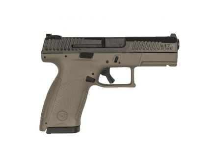 CZ-USA CZ P-10 C 9mm Pistol, FDE - 91532