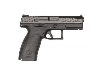 """CZ-USA CZ P-10 C 4"""" 9mm Pistol, Blk - 91531"""