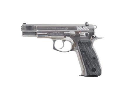 CZ-USA CZ 75 B Stainless 9mm Pistol, High Polished - 91108