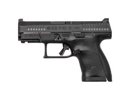 CZ-USA P-10 S Optics Ready (Low Capacity) 9mm Pistol, Blk - 05170