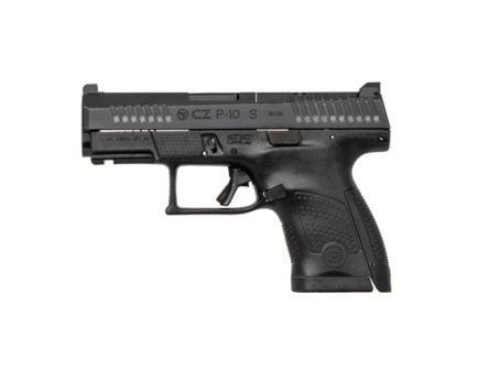 CZ-USA CZ P-10 USA Sub Compact (Low Capacity) 9mm Pistol, Blk - 05160