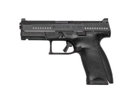 CZ-USA P-10 C Optics Ready (Low Capacity) 9mm Pistol, Blk - 05130