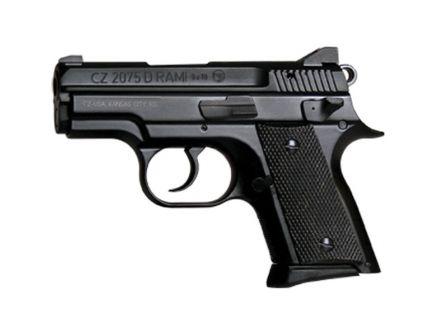 CZ-USA CZ 2075 RAMI BD - (Low Capacity) 9mm Pistol, Blk - 01754