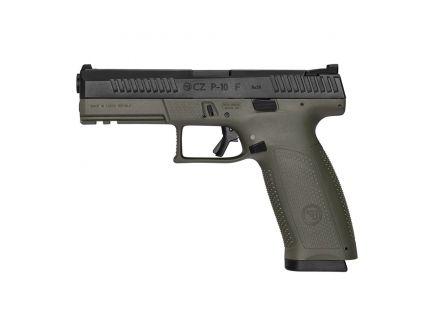 CZ-USA CZ P-10 F (Low Capacity) 9mm Pistol, OD Green - 01545