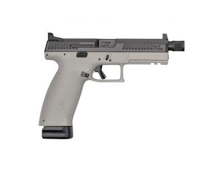 CZ-USA CZ P-10 F Urban Grey Suppressor-Ready (Low Capacity) 9mm Pistol, Gray - 01544