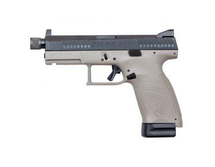 CZ-USA CZ P-10 C Urban Grey Suppressor-Ready (Low Capacity) 9mm Pistol, Gray - 01534