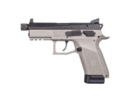 CZ-USA CZ P-07 Suppressor-Ready (Low Capacity) 9mm Pistol, Urban Gray - 01288