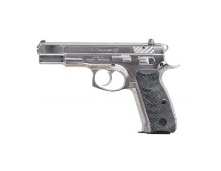CZ-USA CZ 75 B (Low Capacity) 9mm Pistol, High Polished Stainless - 01108
