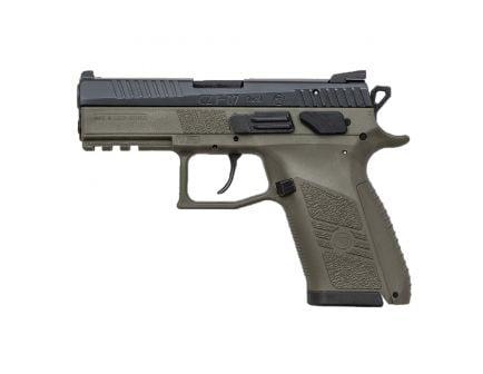 CZ-USA CZ P-07 (Low Capacity) 9mm Pistol, OD Green - 01077