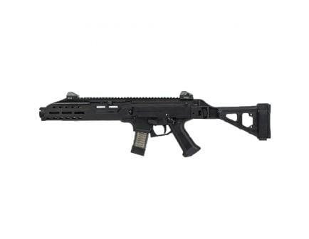 CZ-USA CZ Scorpion EVO 3 S1 9mm AR Pistol w/ Flash Can and Folding Brace (Low Capacity), Blk - 01354