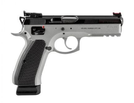 CZ-USA SP-01 Shadow Custom 9mm Pistol, Dual Tone - 91708