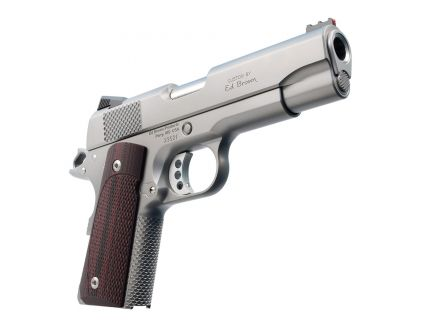 Ed Brown CCO .45 ACP Pistol, Matte Stainless - CCO18-SS