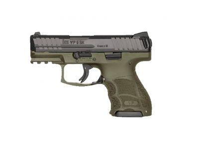 Heckler & Koch VP9 SK LE 9mm Pistol, OD Green - 81000438