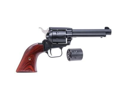"Heritage Manufacturing Rough Rider 4.75"" .22lr/.22 Mag Small Bore Revolver, Black Satin - SRR22MBS4"