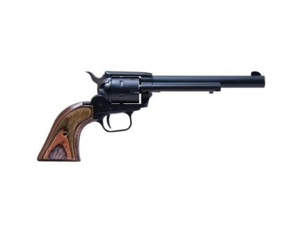 """Heritage Manufacturing Rough Rider 6.5"""" .22lr/.22 Mag Small Bore Revolver, Black Satin - RR22MBS6"""