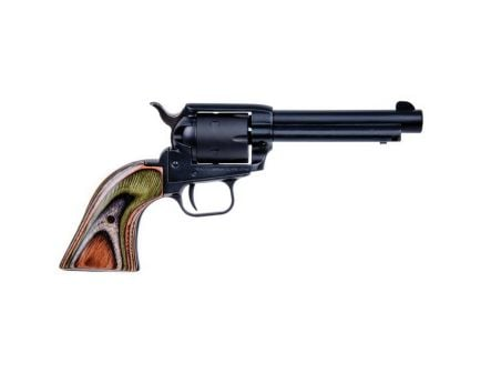 """Heritage Manufacturing Rough Rider 4.75"""" .22lr/.22 Mag Small Bore Revolver, Black Satin - RR22MBS4"""