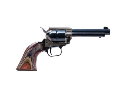 """Heritage Manufacturing Rough Rider 4.75"""" .22lr/.22 Mag Small Bore Revolver, Simulated C-Hardened - RR22MCH4"""
