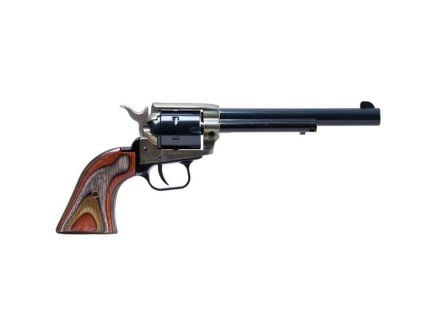 """Heritage Manufacturing Rough Rider 6.5"""" .22lr/.22 Mag Small Bore Revolver, Simulated C-Hardened - RR22MCH6"""