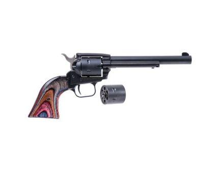 "Heritage Manufacturing Rough Rider 6.5"" .22lr/.22 Mag Small Bore Revolver, Black Satin - SRR22MBS6"